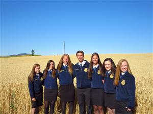 2016-2017 FFA Officer Team